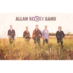 Signed Allan Scott Band Poster