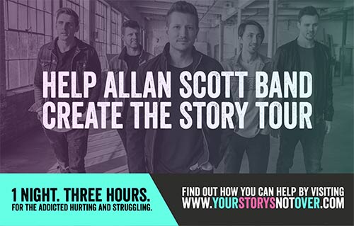 Support for the Story Tour video overlay image